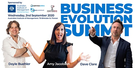 BUSINESS EVOLUTION SUMMIT tickets