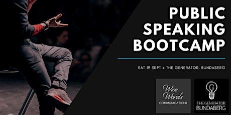 Bundaberg Public Speaking Bootcamp tickets