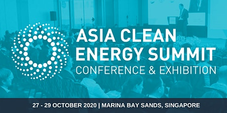 Asia Clean Energy Summit 2020 tickets