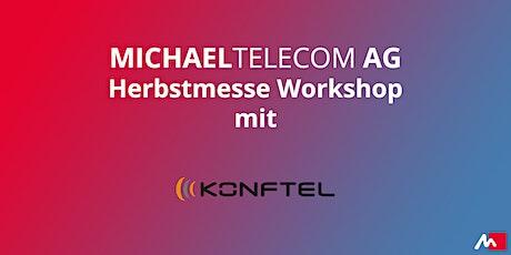 KonftelAuf- und Nachrüsten für Audio- und Videokonferenzen Tickets