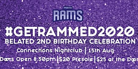 #GetRammed 2020 tickets