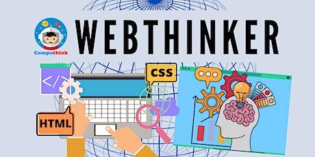 September 2020 Holidays - WebThinker 3-Hours Online Workshop tickets