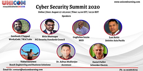 Cyber Security Summit 2020 tickets