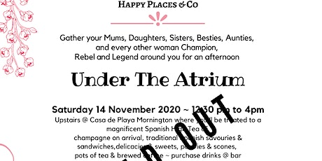 Under The Atrium tickets