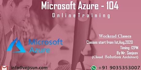 Microsoft Azure Training | Online at Vepsun Technologies tickets