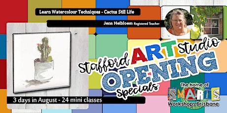 Stafford  Art Studio - Mini Class - Watercolour Easy Paint tickets