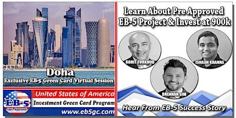 Doha EB-5 American Green Card Virtual Market Series tickets