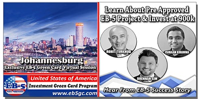 Johannesburg EB-5 American Green Card Virtual Mark