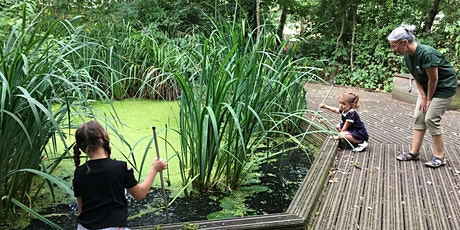Pond dipping, minibeast hunting and eco-art tickets