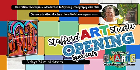 Stafford  Art Studio - Mini Class - Easy Picasso Paint tickets
