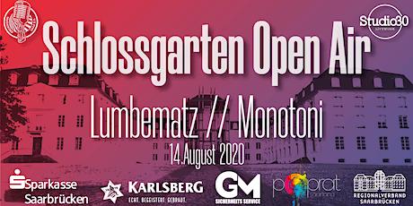 Schlossgarten Open Airs - Lumbematz Tickets