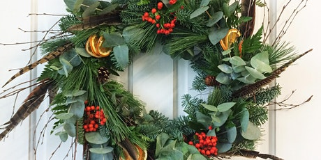 Christmas Moss Based Wreath tickets