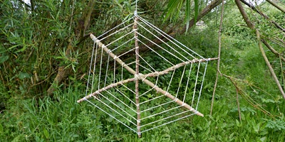 Shelter building and eco-art