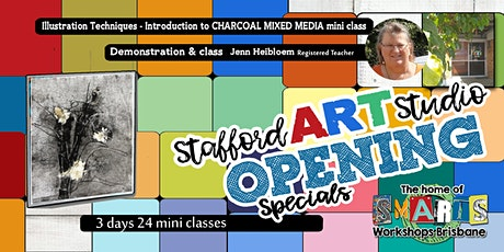 Stafford  Art Studio - Mini Class - Learn mixed media tickets