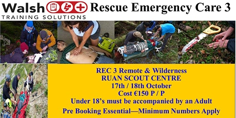 Rescue Emergency Care Level 3 tickets