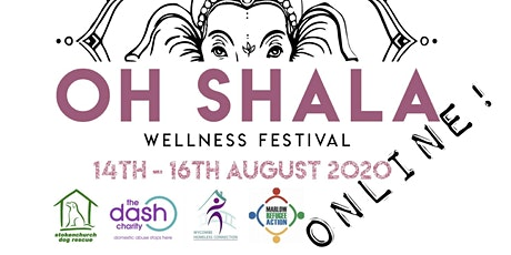 OhShala ONLINE Yoga and Wellness Festival! tickets