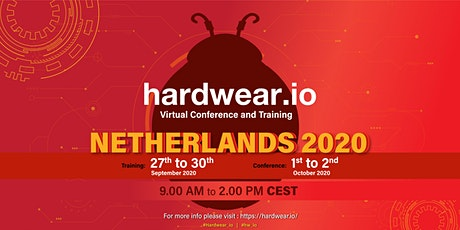 hardwear.io Security  Virtual  Conference and Training - Netherlands 2020 tickets