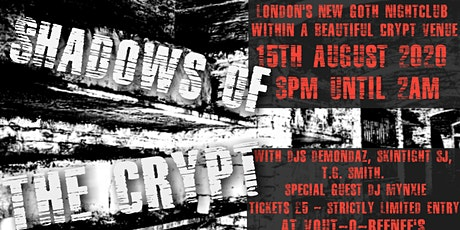 Shadows of the Crypt Guestlist tickets