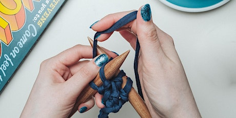 Improver's Hand Knitting 'Zoom' Online Class tickets