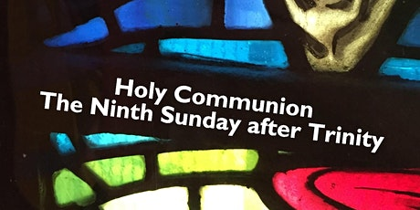 Free Reservation for 9am Eucharist Service Sunday 9 August tickets