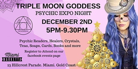 Christmas Psychic Night with Triple Moon Goddess Expos tickets