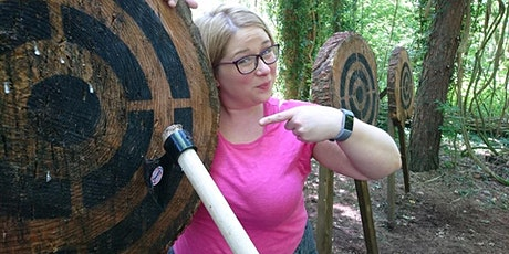 3 hour Adventure - axe throwing, archery, fire & shelter- age 18+, Bridgend tickets