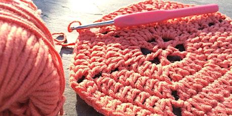 Curso de Tricô - Crochet for Beginners 'Zoom' Online Class tickets