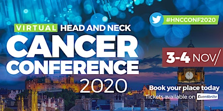 Virtual International Head & Neck Cancer Conference 2020 DAY 2 tickets