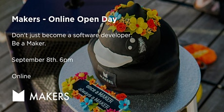 Makers - Online Bootcamp Open Day tickets