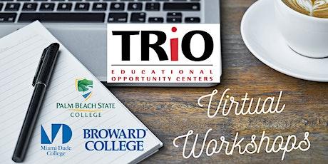 (Replay) Tri-County EOC Webinar | Scholarship Bootcamp with Rockell Bartoli tickets