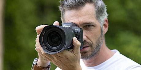 Canon EOS R5 Kurzworkshops bei Foto Wolf Tickets
