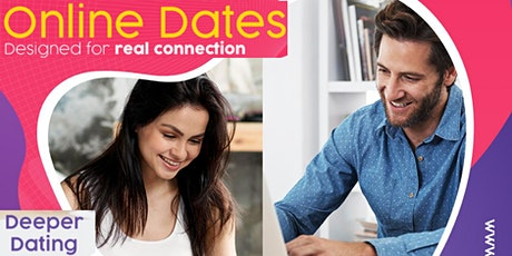 Deeper Dating Online | Ages 25 - 39 | London | Unique + Fun tickets