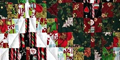Bargello Christmas Table Runner at Abakhan at Mostyn tickets