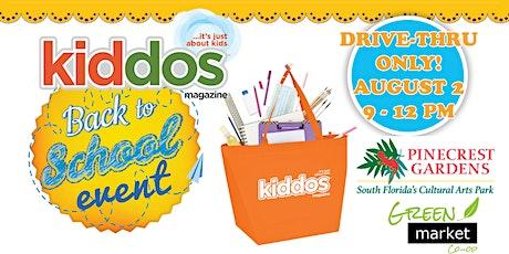 Kiddos Magazine Drive-Thru Back to School & 7th  Anniversary Event tickets