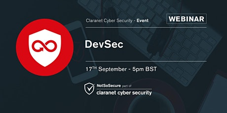 DevSecOps - What, Why and How? Webinar tickets