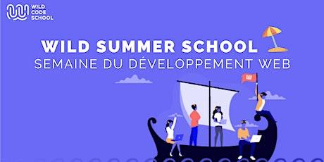 Wild Summer School -  Booster son site web avec JavaScript billets