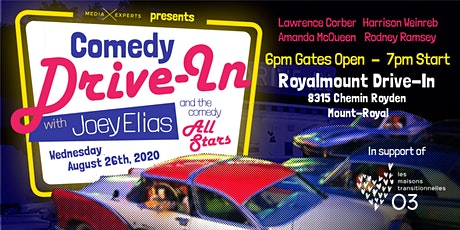 Joey Elias and the Comedy All-Stars: A Benefit Show for On Our Own billets