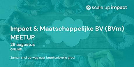 Impact & Maatschappelijke BV (BVm) ONLINE MEETUP tickets