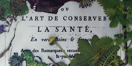 ONDINE CLOEZ - L'ART DE CONSERVER LA SANTÉ billets