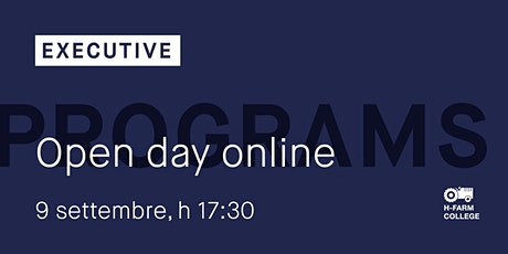 Online Open Day Master Executive biglietti