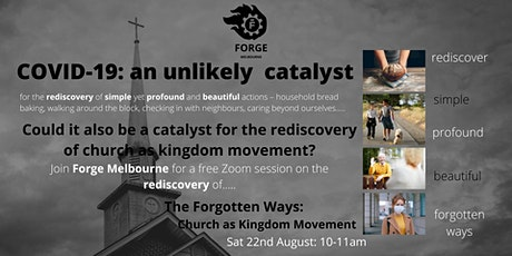The Forgotten Ways - Church as Kingdom Movement tickets