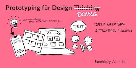 Prototyping für Design-Thinking Tickets