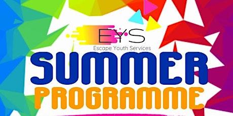 JUNIOR MEMBERS: Escapes Summer Programme tickets