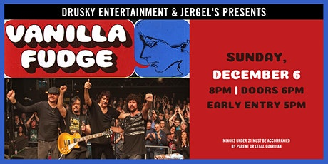 Vanilla Fudge tickets