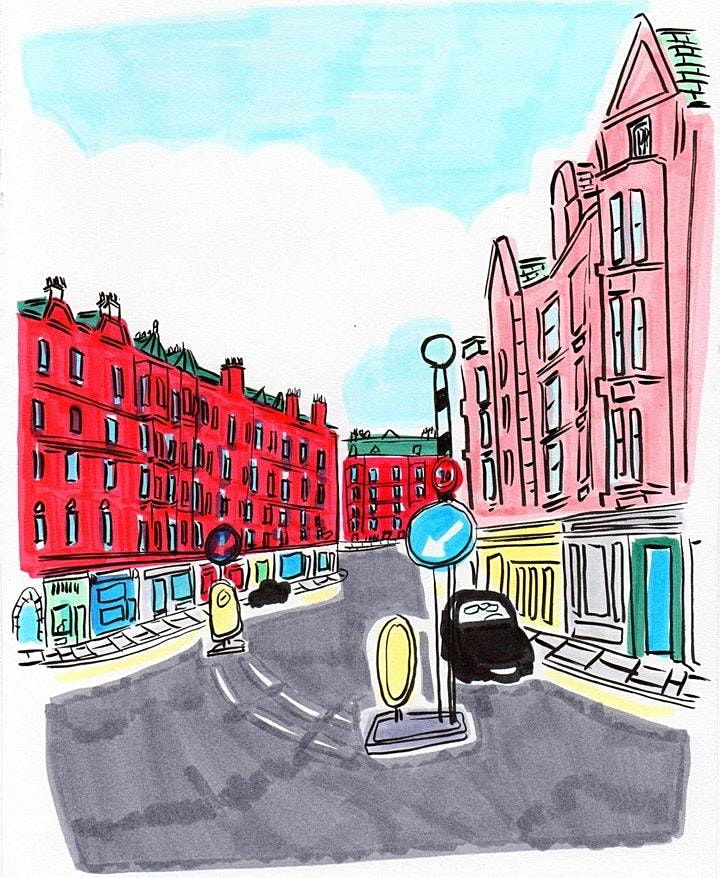 Urban sketching with Cassandra and Mark - Gas Lamps with Andrew Kerr image