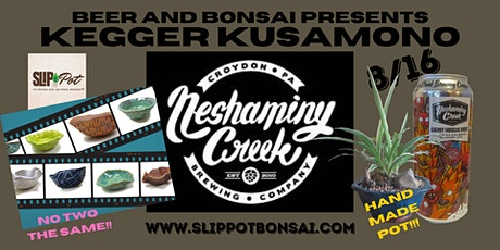Kegger Kusamono at Neshaminy Creek Brewing Company tickets