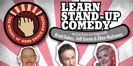 Learn stand-up comedy in Melbourne this October with Jeff Green tickets