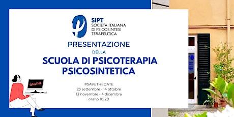 Presentazione Scuola di Psicoterapia Psicosintetica a Firenze biglietti