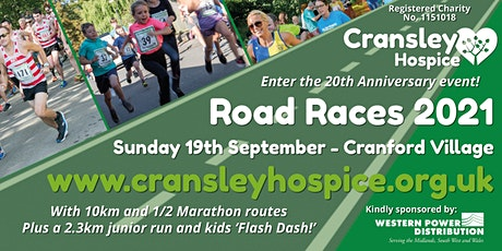 Cransley Hospice Road Races 20th Anniversary Road Race tickets