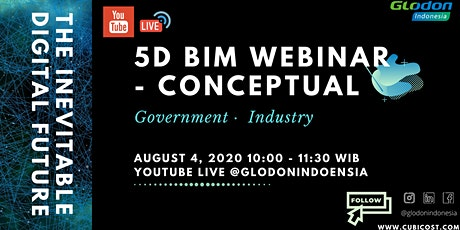 The Inevitable Digital Future: 5D BIM Webinar - Conceptual tickets